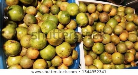 Oude dame sinaasappelsap vrouw keuken oranje Stockfoto © photography33