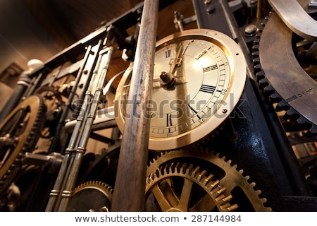 Big clock detail Stock photo © blanaru