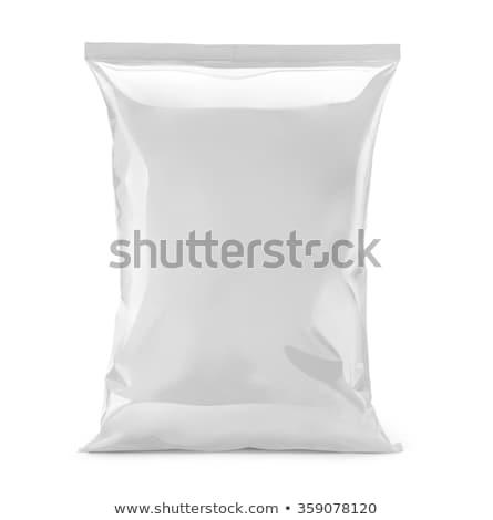 Bag of chips Stock photo © stevemc