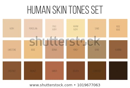 Young woman with color charts Stock photo © photography33