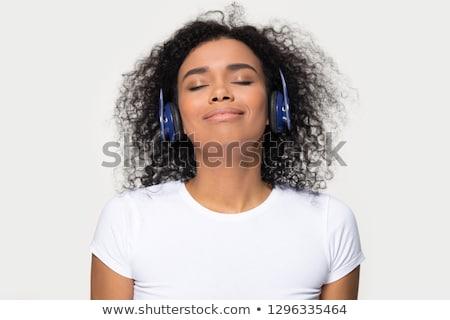 moda · kız · genç · müzik · kadın - stok fotoğraf © stockyimages