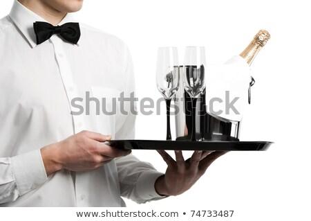 De · ober · glas · restaurant · bar - stockfoto © photography33