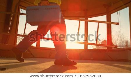 állvány · nehéz · kötelesség · acél · építkezés · autó - stock fotó © photography33