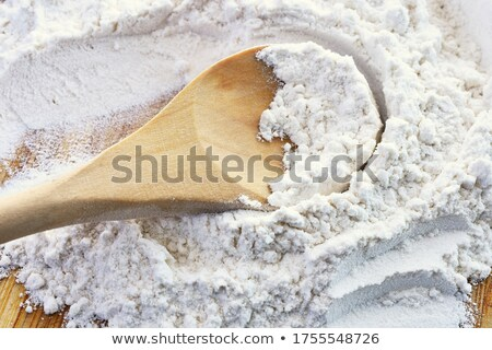 close up on heap of flour stock photo © m-studio