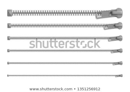 long zipper Stock photo © prill