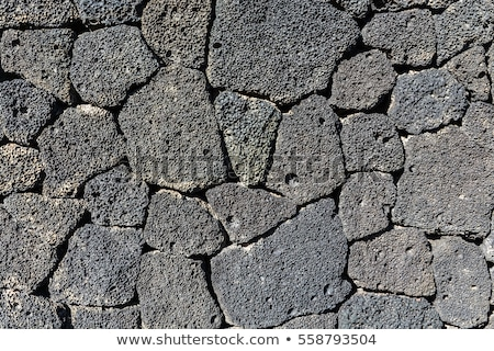 Metselwerk vulkanisch stenen muur textuur Stockfoto © lunamarina
