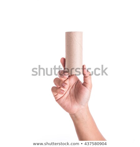 Women with cardboard tube Stock photo © photography33