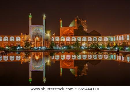 Mecset éjszaka Irán város ajtó művészet Stock fotó © travelphotography