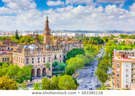 view on seville in spain stock photo © hofmeester