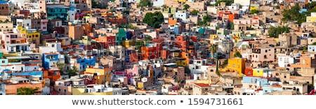 Vibrant mexican city of Guanajuato Stock photo © emattil