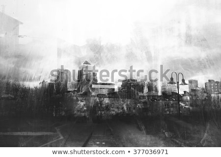 futuristic ruins industrial structure Stock photo © sirylok