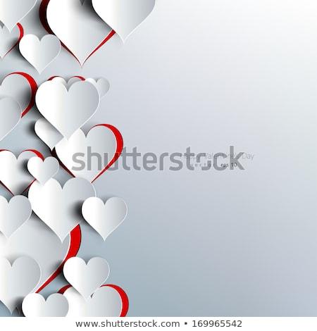 sevmek · dünya · haritası · kırmızı · kalpler · vektör · harita - stok fotoğraf © -talex-