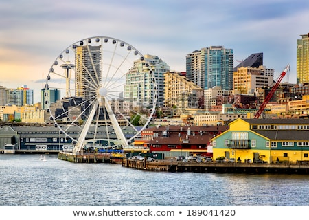 Seattle · groot · wiel - stockfoto © HdcPhoto