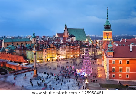 Christmas Time in Warsaw Stock photo © rognar