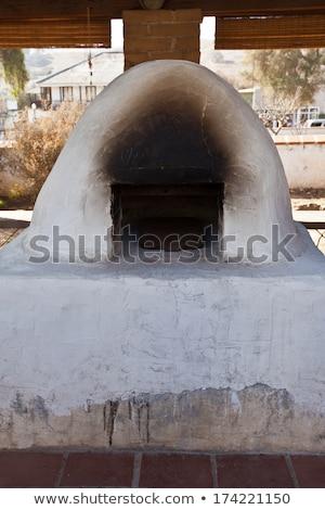 Hagyományos konyha küldetés Kalifornia példa ültetvény Stock fotó © backyardproductions