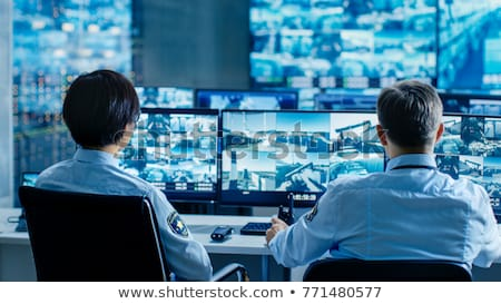 Security Monitoring Stock photo © Lightsource
