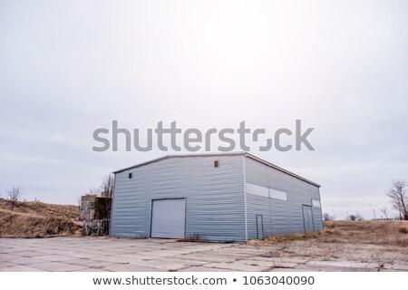 Inclement Hangar Stock photo © eldadcarin