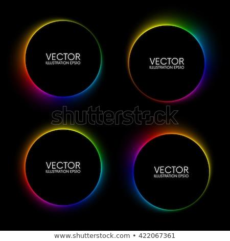 örnek · soyut · renkli · siyah · 3d · illustration - stok fotoğraf © latent