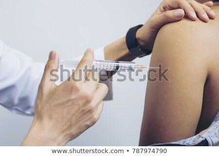 Arm injection Stock photo © Hofmeester