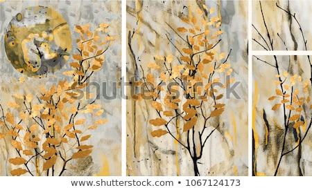 Grijs abstract acryl kunst zand olie Stockfoto © Zerbor