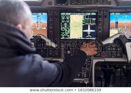 aircraft preparing to take off stock photo © ssuaphoto