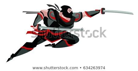 武士 · 画像 · 漫画 · スタイル · 実例 · 男 - ストックフォト © sahua