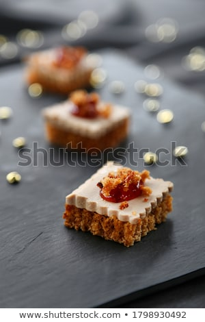 gingerbread and foie gras stock photo © m-studio