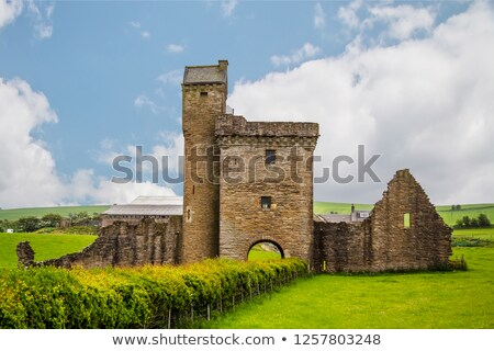 ruiny · starych · klasztor · Szkocji · wody · budynku - zdjęcia stock © phbcz