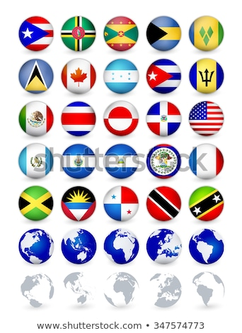 flag icon web button grenada Stock photo © mizar_21984