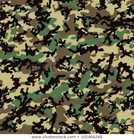 Woodland Camouflage. Seamless Tileable Texture. Stock photo © tashatuvango