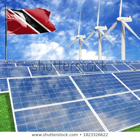 Electrical plant in Tobago Stock photo © jeancliclac