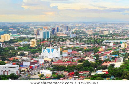 Metro Cebu at sunset Stock photo © joyr