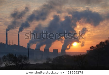 Stockfoto: Atmospheric Air Pollution From Factory