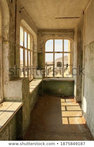 Ruina edad ciudad muerta casa África arquitectura Foto stock © dirkr