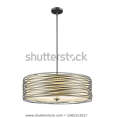 3 yellow light from classic lamp Stock photo © yanukit