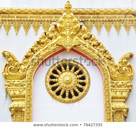 thai · estilo · anjo · estátua · Tailândia · cor - foto stock © witthaya