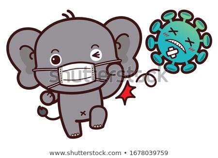 Слоны · дороги · слон · знак · Шри · Ланка - Сток-фото © dirkr