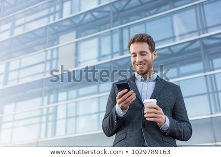 Estate Agent On Phone In Office Stock photo © HighwayStarz