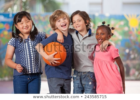 Multi-ethnic kids playing  together Stock photo © artisticco