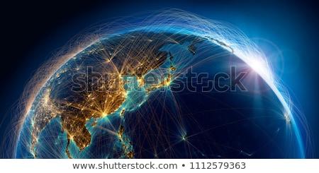 Chine · Inde · Malaisie · Philippines · Thaïlande · Indonésie - photo stock © fenton