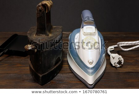 Two old irons Stock photo © cwzahner