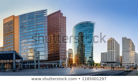 Berlin business downtown Stock photo © joyr