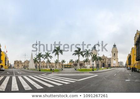 Правительство дворец Лима Перу 15 2015 Сток-фото © meinzahn