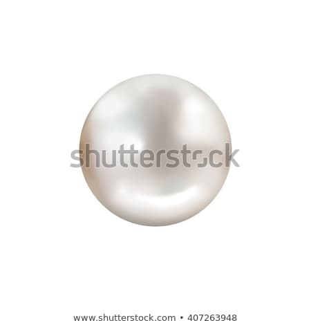 Pearl Isolated On White Stock photo © Lightsource