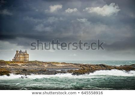Green Coast - Brittany, France Stock photo © RazvanPhotography