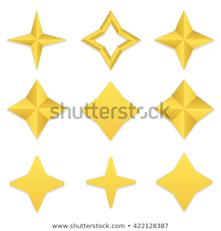 Bright Vector Star in Four Colors Stock photo © ThomasAmby