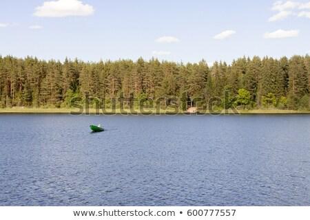 Halászat halász tengerpart hosszú sziget NY Stock fotó © rmbarricarte