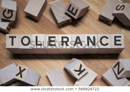 definition of the word tolerance in a dictionary stock photo © zerbor
