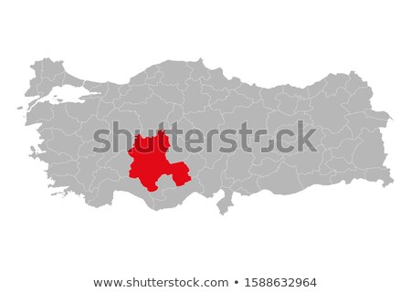 Map of Turkey, Konya Stock photo © Istanbul2009