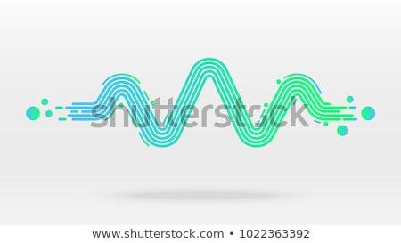 レコード 水 孤立した 黒 コンピューターグラフィックス ストックフォト © RAStudio